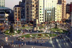 Площадь Таксим в Стамбуле Taksim Meydanı