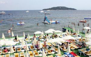 Пляжи на Бююкада Стамбул Istanbul plajlari