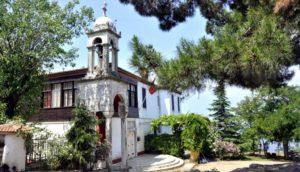Бююкада церковь Святого Георгия Adalar Istanbul