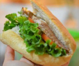Стамбул, рыба в хлебе Balık ekmek