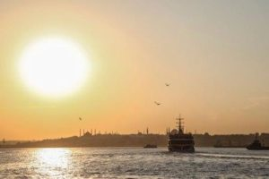 Тур на закате по Босфору Стамбул Boğaz Turu
