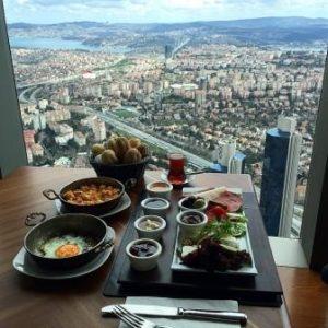 Смотровые площадки Стамбула Sapphire
