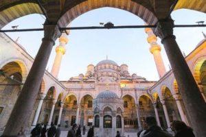 Новая мечеть в Стамбуде Yeni camii