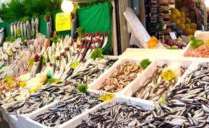Рыбный рынок в Кадыкёй kadıköy balık pazarı