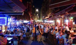 Улица баров в Кадыкёй barlar sokağı kadıköy