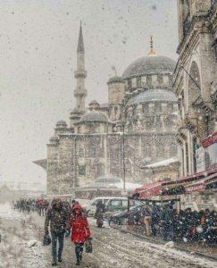 Зима в Стамбуле