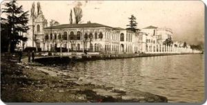 Дворец Долмабахче Dolmabahe saray 1918