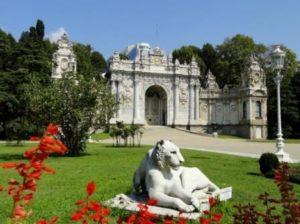 дворец Долмабаче Dolmabahçe sarayı