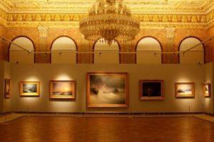 Дворец Долмабахче Картины Айвазовского