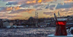 Стамбул зимой погода