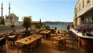 The house cafe Ortakoy Ортакей Стамбул