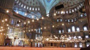 Голубая мечеть(Sultanahmet Camii)