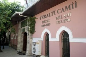 Подземная мечеть (Yeraltı Camii)
