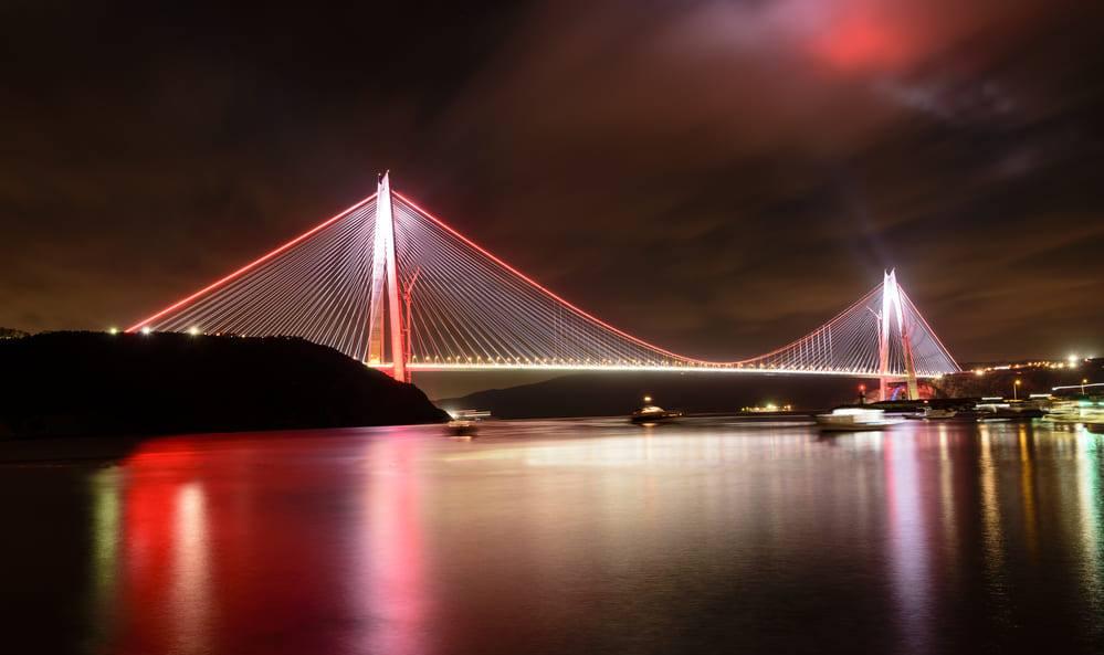 Мост султана Селима Явуза (Yavuz Sultan Selim köprüsü)