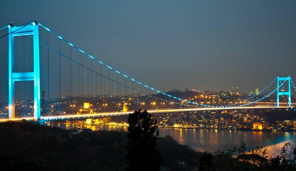 Мост Султана Мехмеда Фатиха (Fatih Sultan Mehmet köprüsü)
