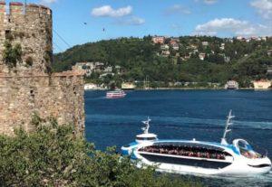 Valide Sultan gemisi Bogaz turu Стамбул летом