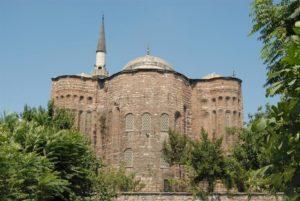 Церковь Святой ФеодосииGül Camii (Aya Theodosia Kilisesi) Стамбул Балат