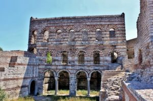 Развалины МалогоВлахернского дворца (Blachernae Sarayı) Стамбул Балат