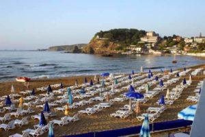 Kilyos Halk Plajı Пляжи Стамбул