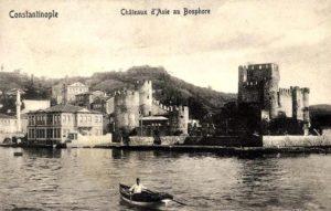 Anadolu Hisarı Крепость Анадолу Хисары Стамбул