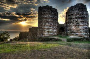 Yoros kalesi Крепость Йорос Стамбул