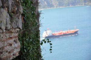 Yoros kalesi Крепость Йорос в Стамбуле