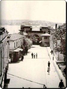 Район Бешикташ в Стамбуле 1940 год