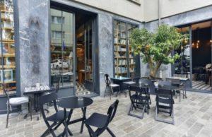 Minoa кафе в Бешикташе Стамбул