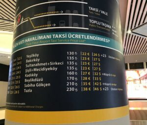 Новый аэропорт Стамбула как добраться