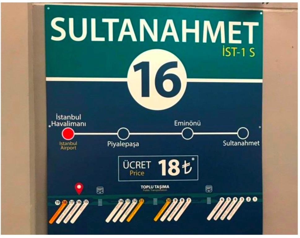 Как доехать из нового аэропорта в Султанахмет