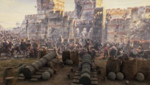 Взятие Константинополя турками