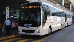 Как добраться из аэропорта до Султанахмет Автобусы Хавабюс