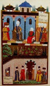 Султан Сулейман и Хайреддин Барбаросса
