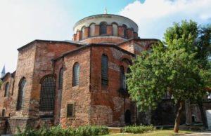 Церковь Святой Ирины Стамбул Великолепный век