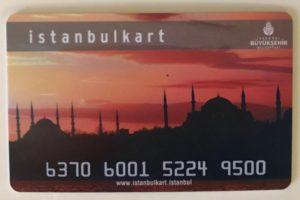 Istanbul Kart Транспортная карта Истанбул карт