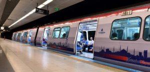 Зеленая ветка метро M2 Yenikapı — Hacıosman