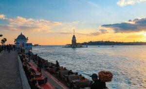 Девичья Башня Ускюдар Стамбул