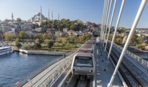Метро Стамбула карта