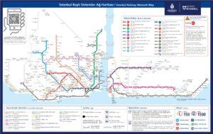 Метро Стамбула карта 2021