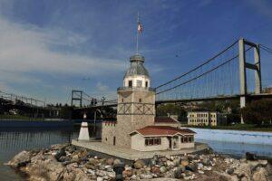 Девичья Башня Миниатюрк Стамбул