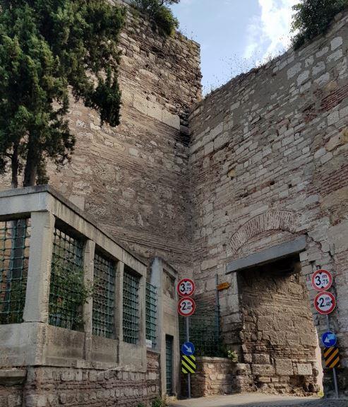 Стены Феодосия Стамбул