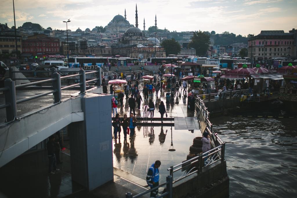 Осенний Стамбул