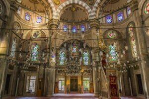 Мечеть Лалели (Laleli camii) в Стамбуле