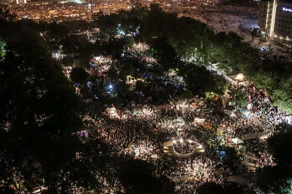 Парк Гези в Стамбуле