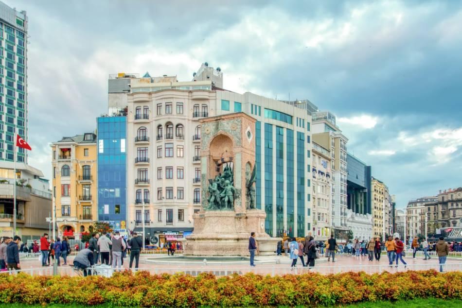Площадь Таксим Стамбул