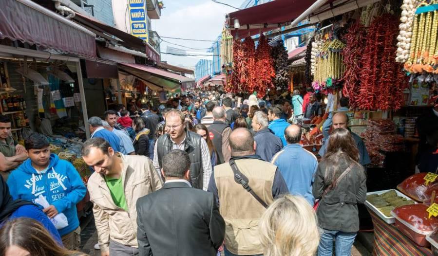 Рынок Рустемпаша и Тахтакале в Стамбуле