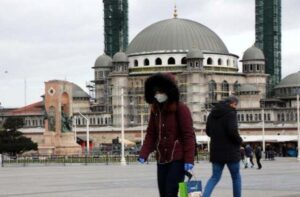 Коронавирус в Стамбуле 2020