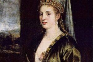La Sultana Rossa. Автор Тициан Вечелио
