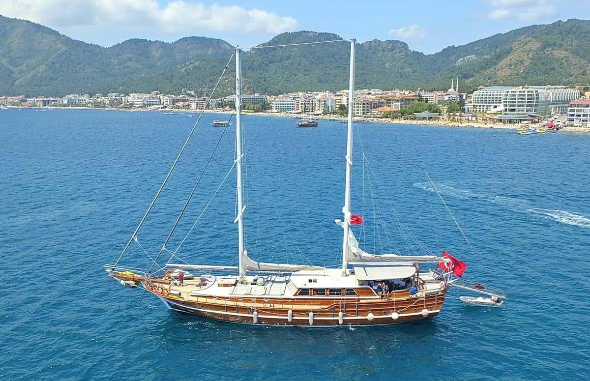 Мармарис прогулка на яхте