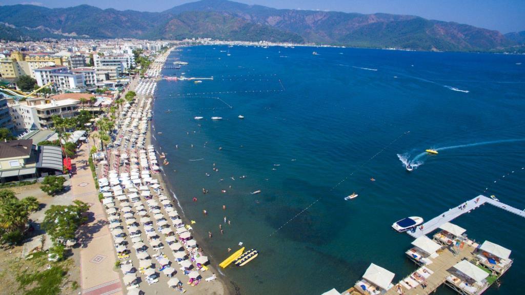 Мармарис пляжи Турция
